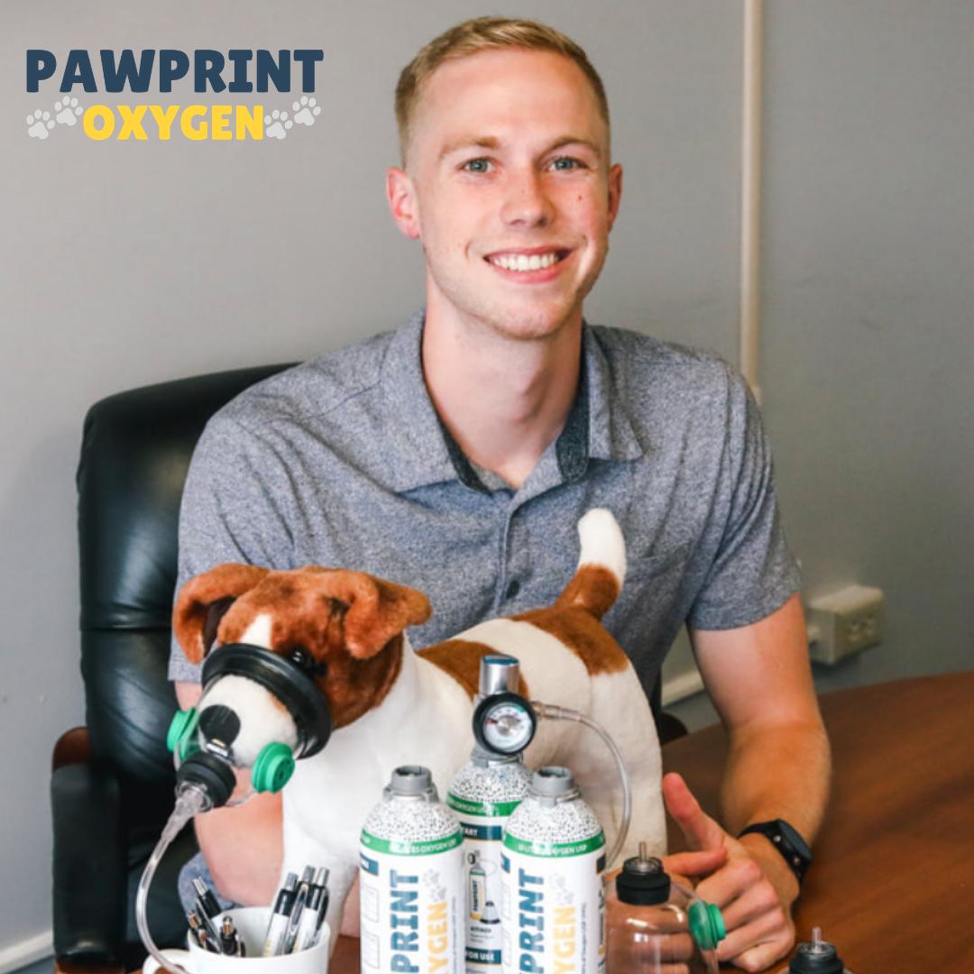 Pawprint Oxygen CEO Blake Dube